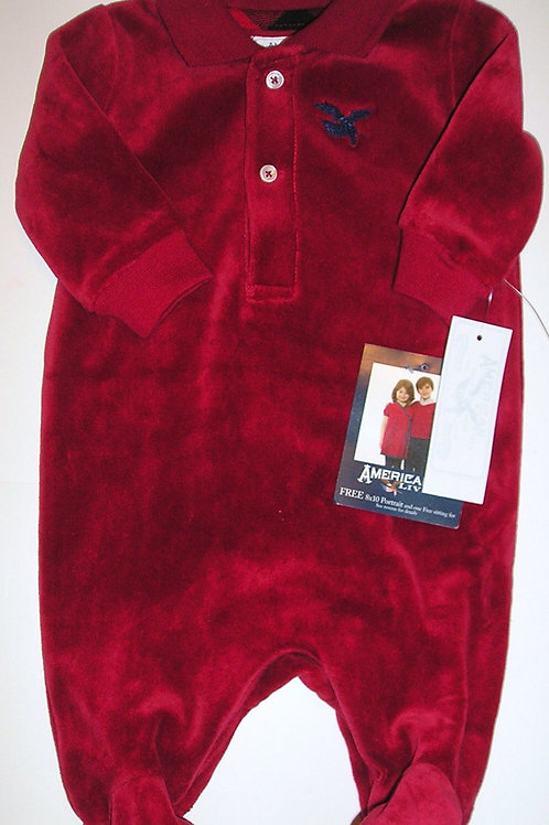 American Eagle red size N