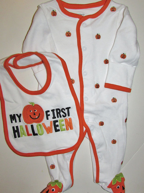 Carters set 1st Halloween size N