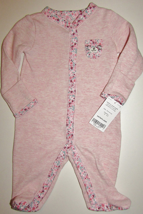 Carters rose/floral size N