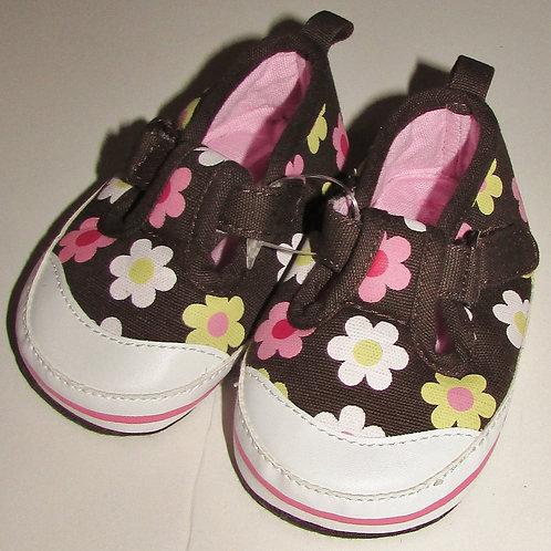 Carters shoe floral size 2