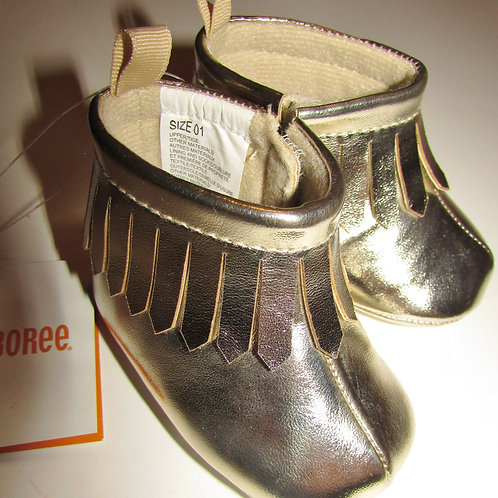 Gymboree metallic gold  size 1
