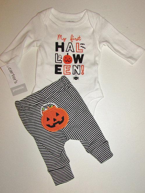 Carters Halloween set size P
