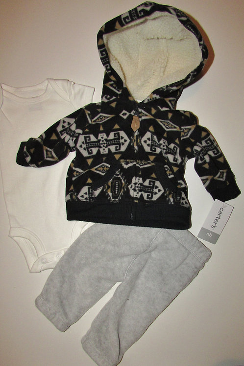 Carters gray/black size N