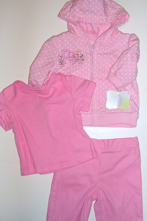 Disney Pooh pink/dots size N