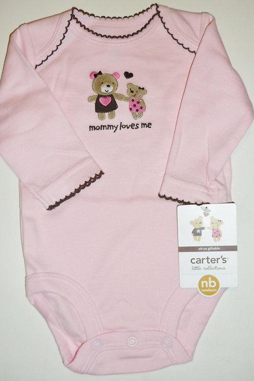 Carters creeper pink/bears size N