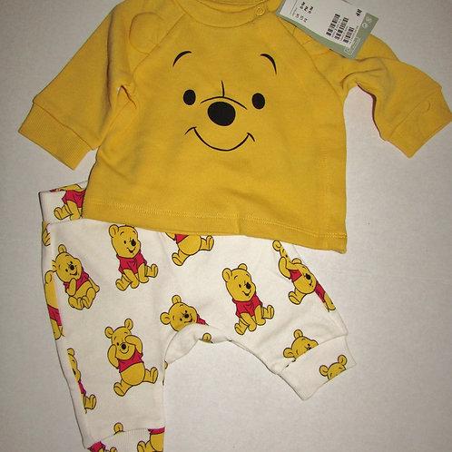 H&M 2 pc set Pooh size SN
