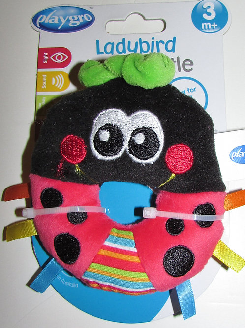 Playgro Ladybird loop rattle