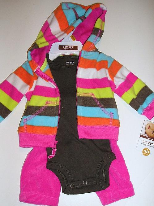 Carters pink/brown size N