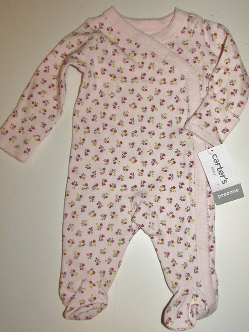 Carters Floral sleeper size P