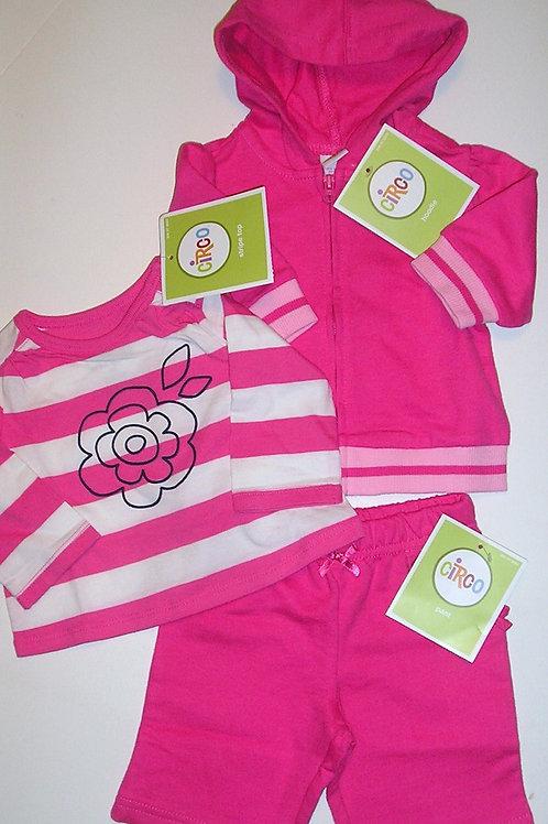 Circo pink/stripes size N