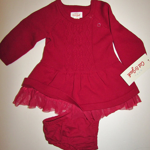 Cat & Jack dress red size N