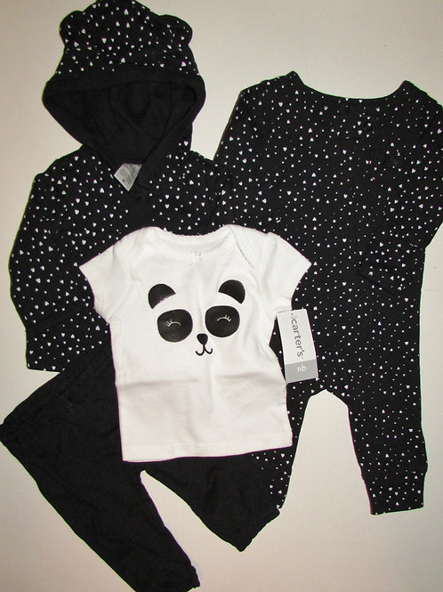 Carters black/white choose style size N