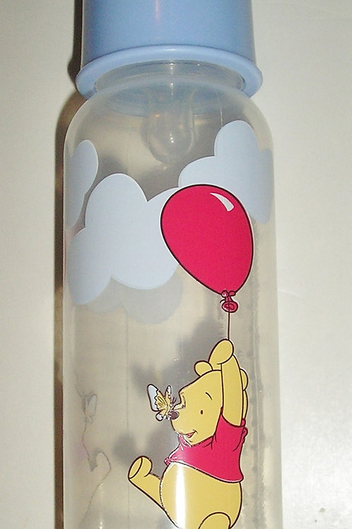 Disney bottle blue/flying Pooh