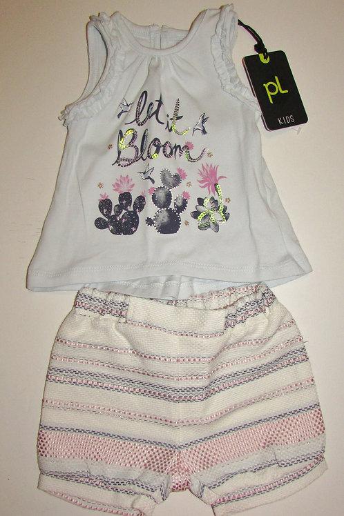 Petitlem Kids 2 pc set lilac size 6 mo