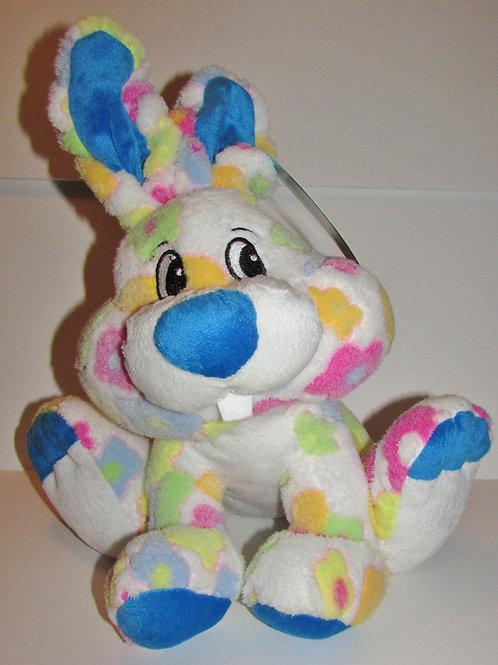 Dan Dee plush large flower bunny choose style