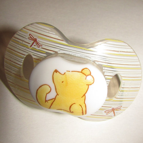 Winnie Pooh pacifier size 0-6 mos