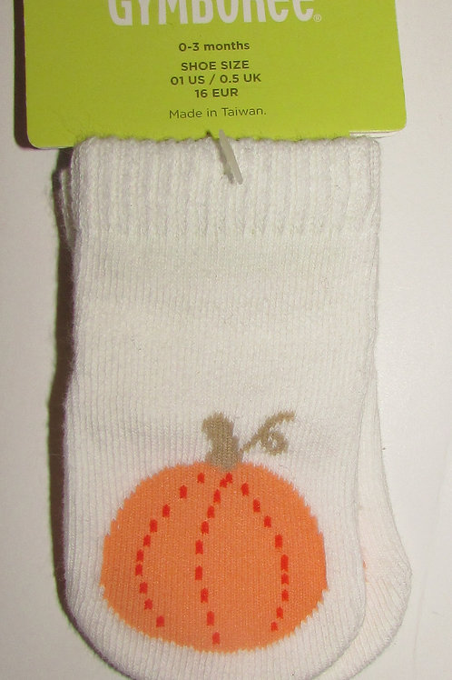 Gymboree white pumpkin size 1