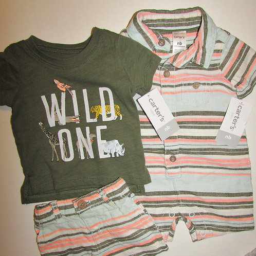 Carters stripes/Wild motif size N
