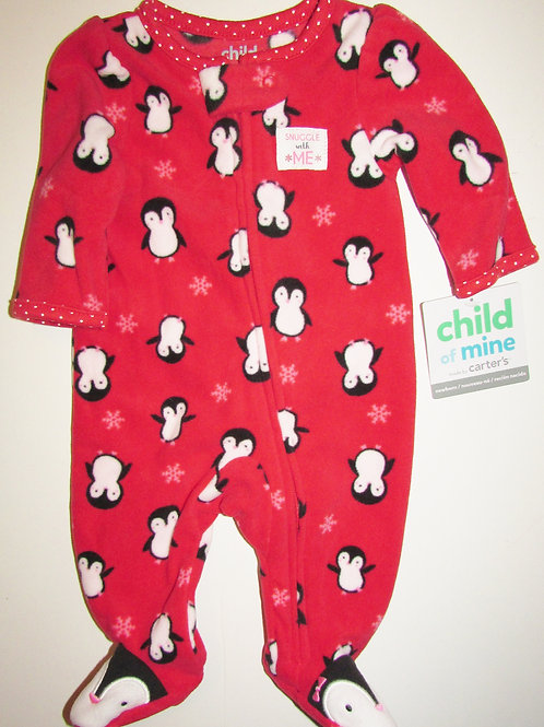 Child of Mine red/penguin size N