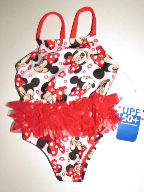 Disney swim suite Minnie size 0-3 mo