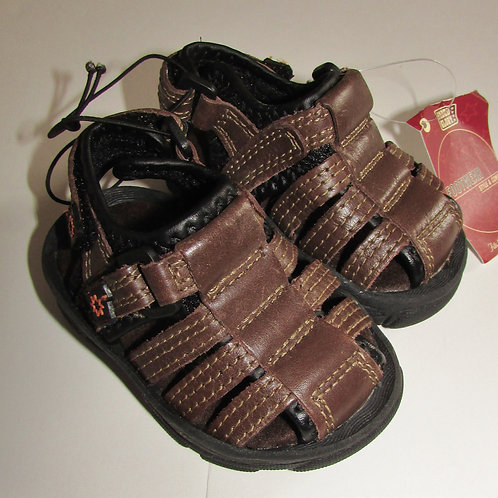 Faded Glory sandals lt brown size 2