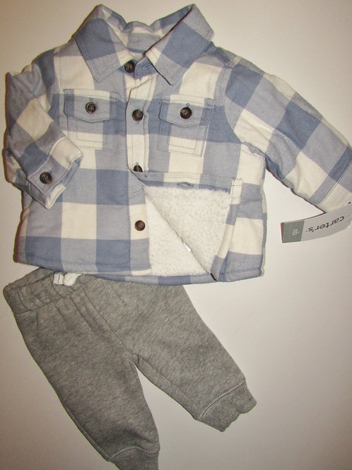 Carters blue/gray size N