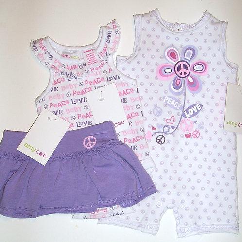 Amy Coe 3 pc set lilac size N
