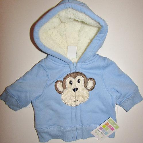 Healthtex coat blue/monkey size N