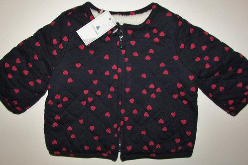 Baby Gap black/hearts size 0-3