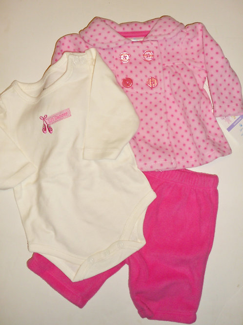Small Wonders pink/white size N
