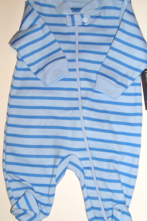 Faded Glory blue striped size N