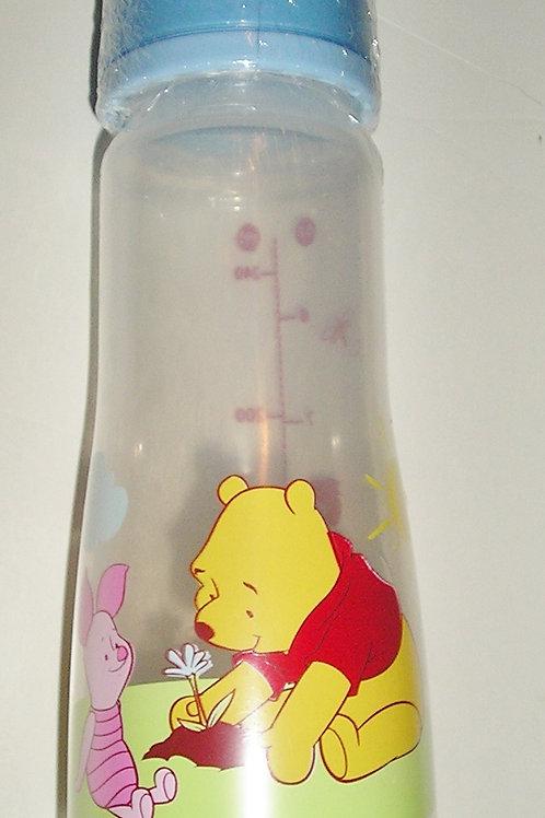 Disney bottle blue/Pooh/flower