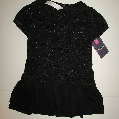 Cherokee dress black size 12 mo