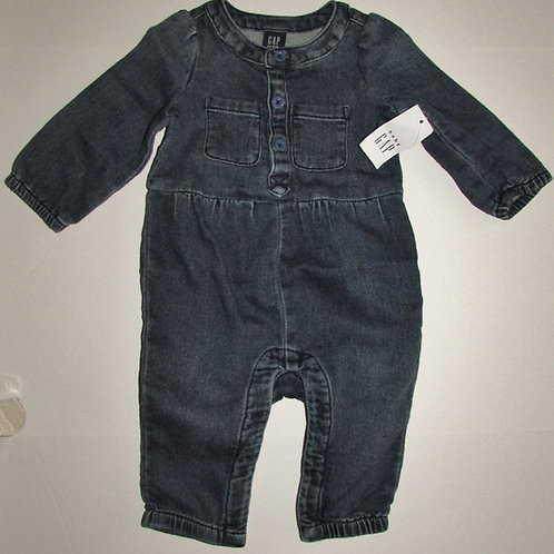 Baby Gap denim coverall size 0-3 mo