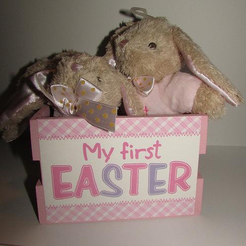 Dan Dee 5 pc 1st Easter gift set pink