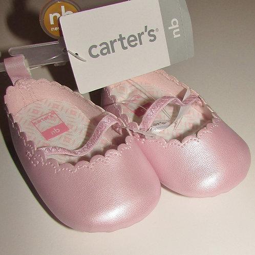 Carters shoe pink vinyl size N