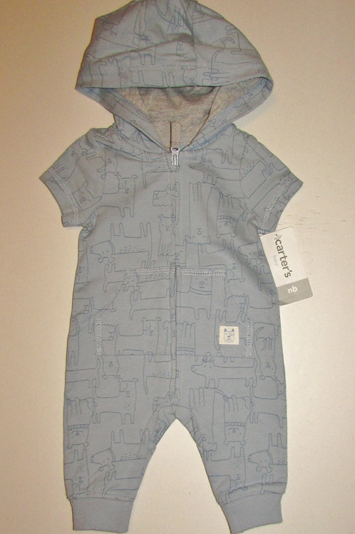 Carters coverall dogs size N