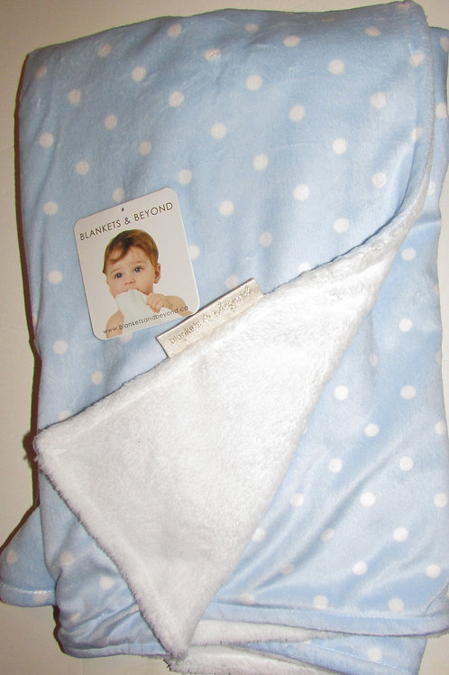 Blankets and Beyond blanket blue/white