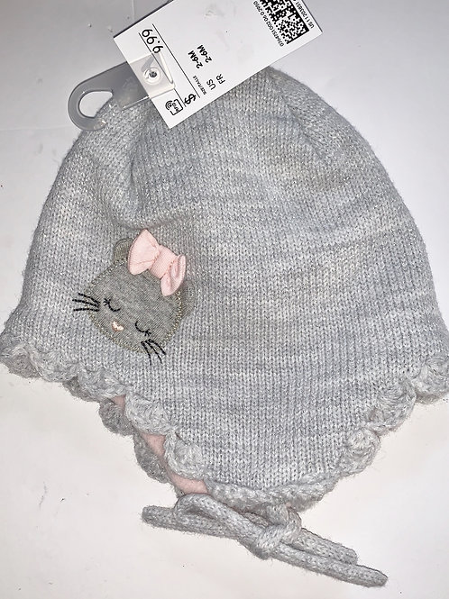 H&M knit hat size 0-6 mos