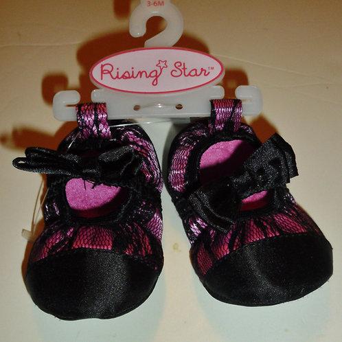 Rising Star pink/black size 1