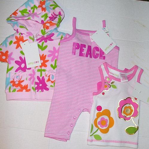 Amy Coe3 pc set  floral size N