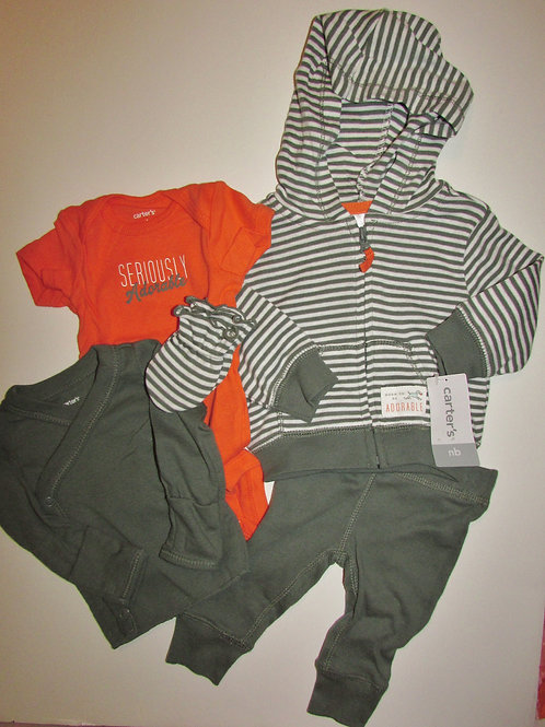 Carters 5 pc set adore size N