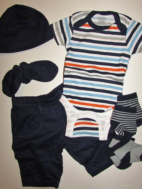 Gerber Onesie 6 pc set choose style size N