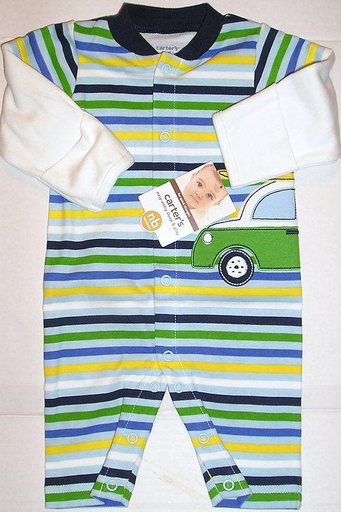 Carters stripes/car size N