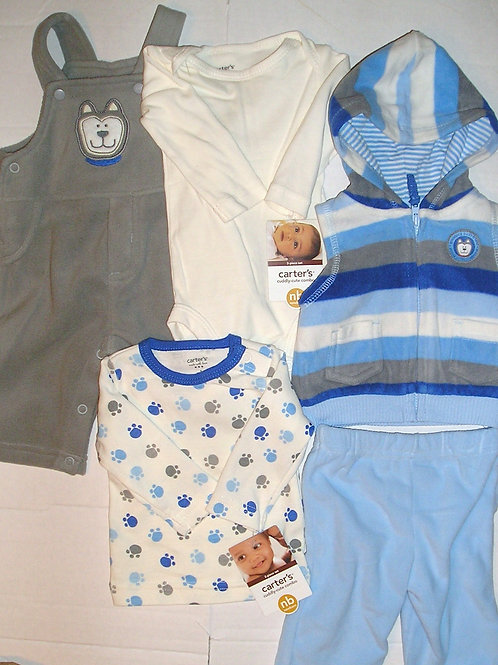 Carters gray/blue size N