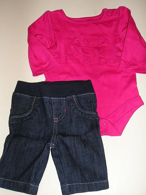 Circo pink/denim size N