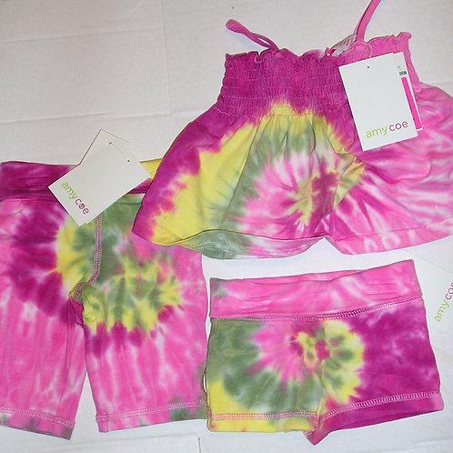 Amy Coe 3 pc set tie dye size N