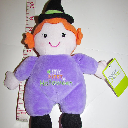 Baby Starters plush witch/rattle