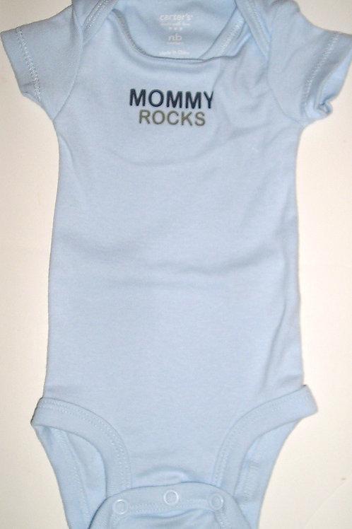 Carters creeper blue/mommy Newborn