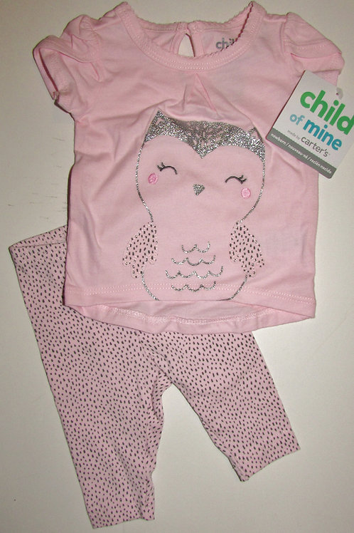 Child of Mine 2 pc pink/silver size N